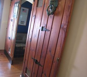 Sliding Doors Add Personality to a Dull Hallway & Sliding Doors Add Personality to a Dull Hallway | Hometalk