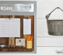 salvaged wood organization station, home office, organizing, repurposing upcycling