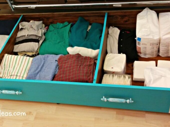 repurposed library to under the bed storage upcycle, bedroom ideas, diy, how to, organizing, repurposing upcycling, storage ideas