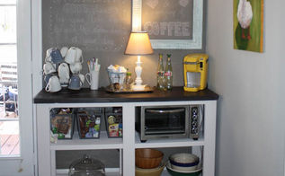 coffee bar inspired by ana white, diy, how to, painted furniture, woodworking projects