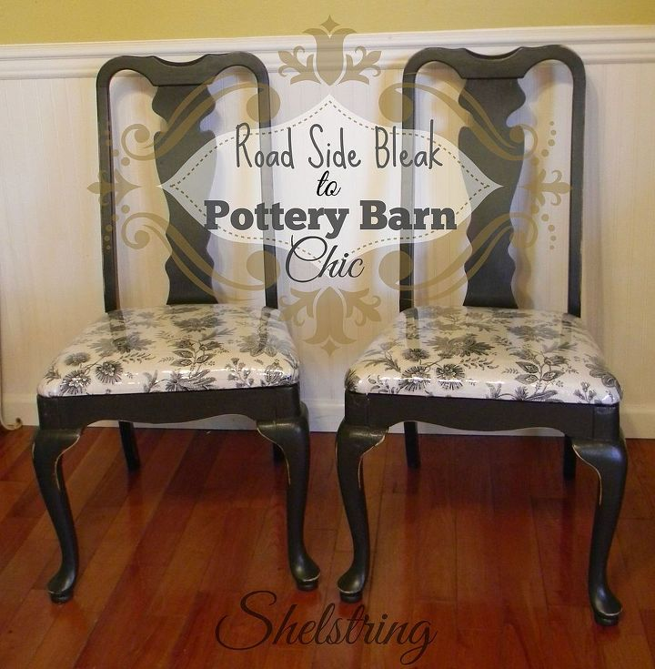 Road Side Bleak to Pottery Barn Chic Dining Room Chair ...