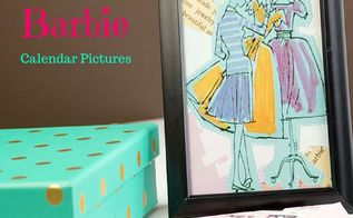 upcycled framed calendar pictures, crafts, how to, repurposing upcycling