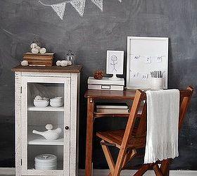Vintage School Desk Gets Modern Makeover, Painted Furniture