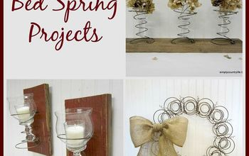 Repurposed Bed Spring Projects