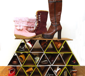 Diy Super Space Saving Shoe Rack, Closet, Diy, How To, Organizing,