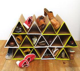 Diy Super Space Saving Shoe Rack, Closet, Diy, How To, Organizing,