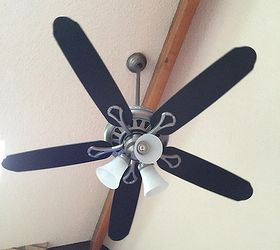 Attractive Paint Your Ceiling Fan Without Removing It From The Ceiling, How To,  Painting,