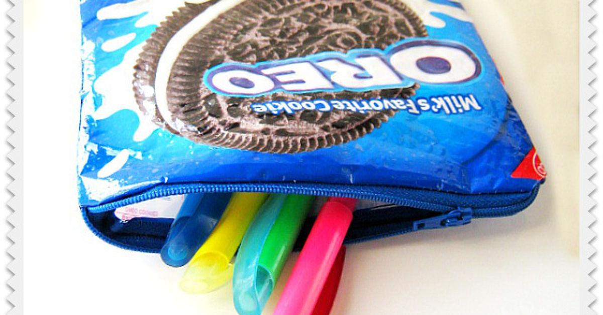Repurposing Oreo Bags Hometalk