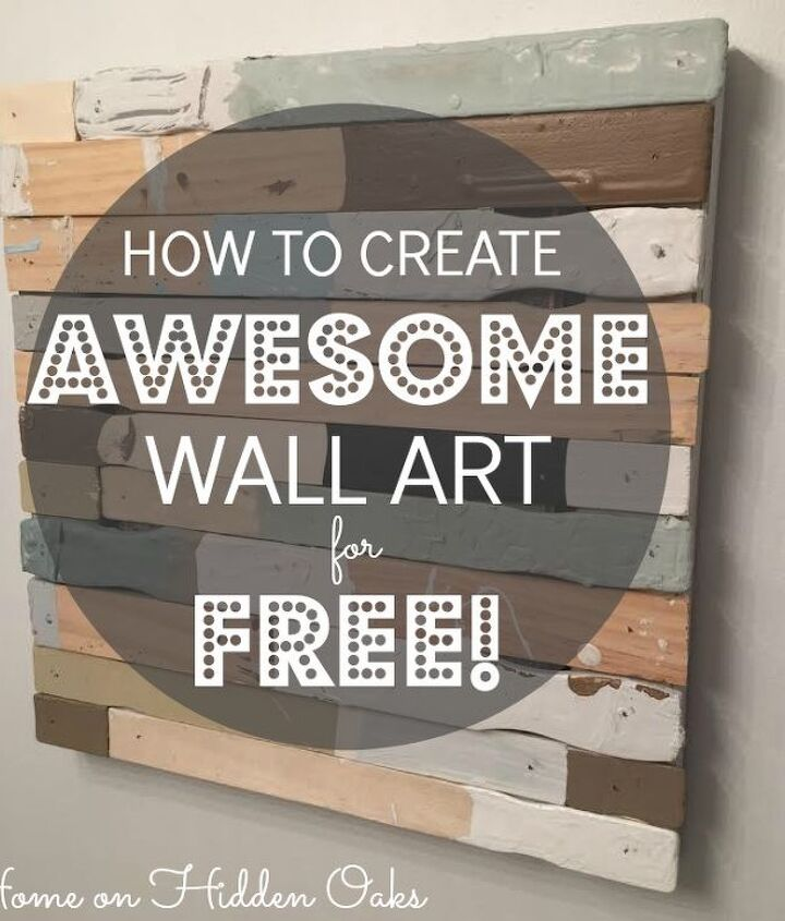 Free Wall Art From Reclaimed Wood Hometalk