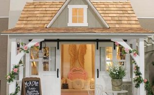 shabby chic mom cave, bedroom ideas, outdoor living, shabby chic