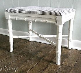 Popular thrifty chic diy vintage bench makeover chalk paint how to painted furniture