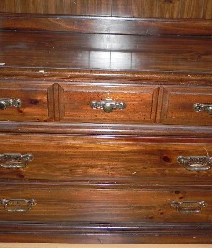complete transformation of an old dresser, chalk paint, painted furniture