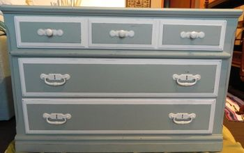 Complete Transformation of an Old Dresser