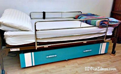 Repurposed Library To Under The Bed Storage Upcycle Bedroom Ideas Diy How