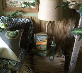 Perfect Jungle Themed Bedroom, Bedroom Ideas, Home Decor, Repurposing Upcycling, Wall  Decor