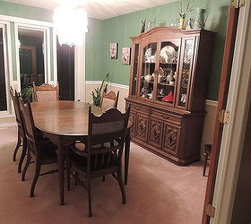 1950 S Dining Set Makeover, Chalk Paint, Dining Room Ideas, Painted  Furniture,
