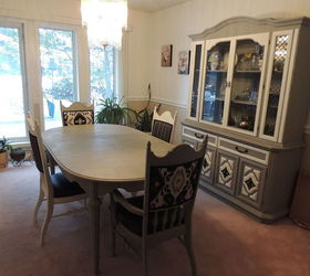 Exceptionnel 1950 S Dining Set Makeover, Chalk Paint, Dining Room Ideas, Painted  Furniture,
