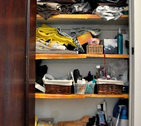 Linen Closet Organization, Closet, How To, Organizing