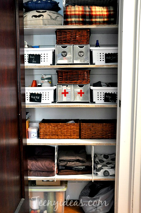 and closet linen for step tips organizing tricks stool thegoodstuff your organization