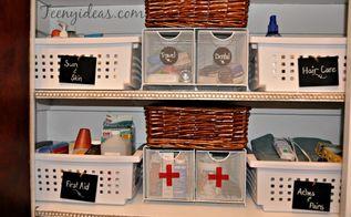linen closet organization, closet, how to, organizing