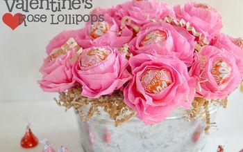 Valentine Rose Lollipops