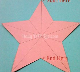Diy Paper Craft Rustic 3 D Paper Stars, Crafts, How To