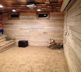 Menden Basement Finish All Re Purposed Materials, Basement Ideas,  Entertainment Rec Rooms, Repurposing