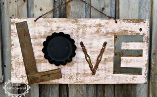 junkie rustic love sign, crafts, rustic furniture, seasonal holiday decor, valentines day ideas
