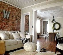 1920 duplex remodel, bathroom ideas, dining room ideas, fireplaces mantels, home decor, kitchen design, living room ideas, rustic furniture