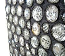 using glass pebbles as wall decor, decoupage, foyer, repurposing upcycling, wall decor