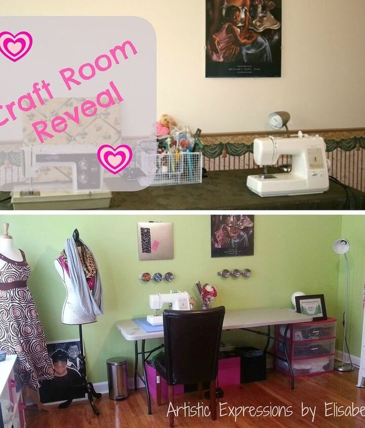 craft room makeover from living room to craft room, craft rooms, crafts, organizing, storage ideas