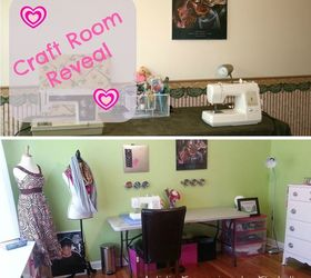 Craft Room Makeover From Living Room To Craft Room, Craft Rooms, Crafts,  Organizing Part 58