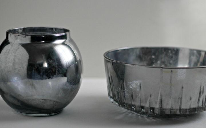 Diy Arranging Flowers In Mercury Glass Vases Hometalk