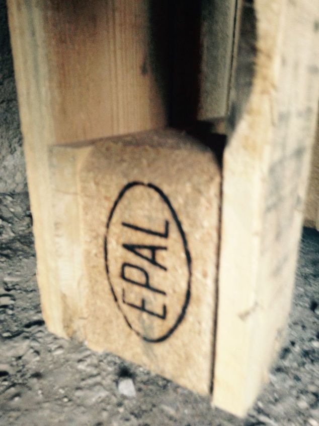 q epal pallets safety, pallet, repurposing upcycling, woodworking projects, This is the stamp on the pallet EPAL