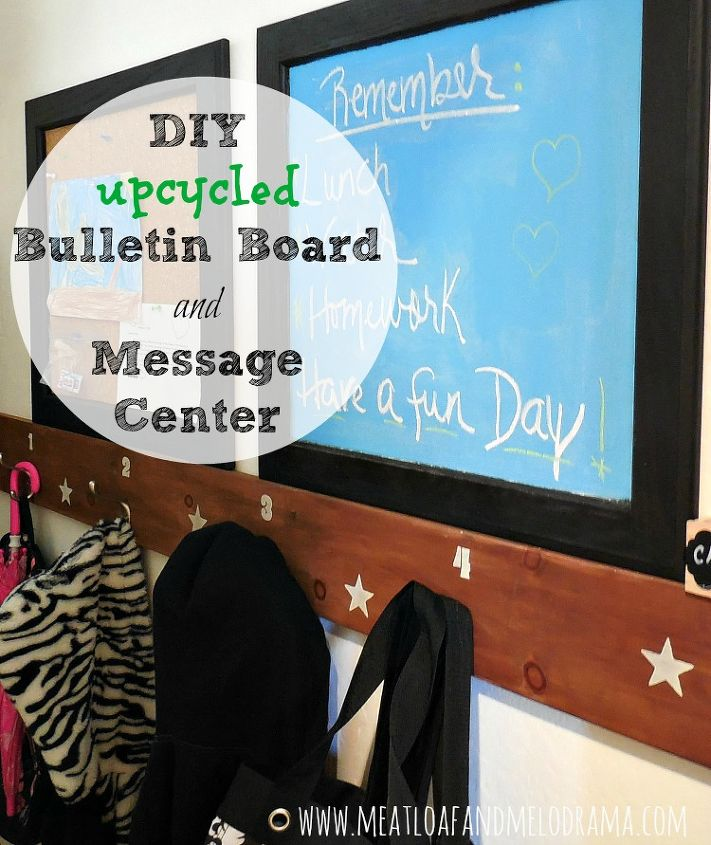 repurpose old cabinet doors into bulletin board and chalk board, chalkboard paint, craft rooms, how to, kitchen cabinets, organizing, painting, repurposing upcycling