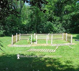 Fenced Backyard Garden, Container Gardening, Fences, Gardening, How To,  Outdoor Living