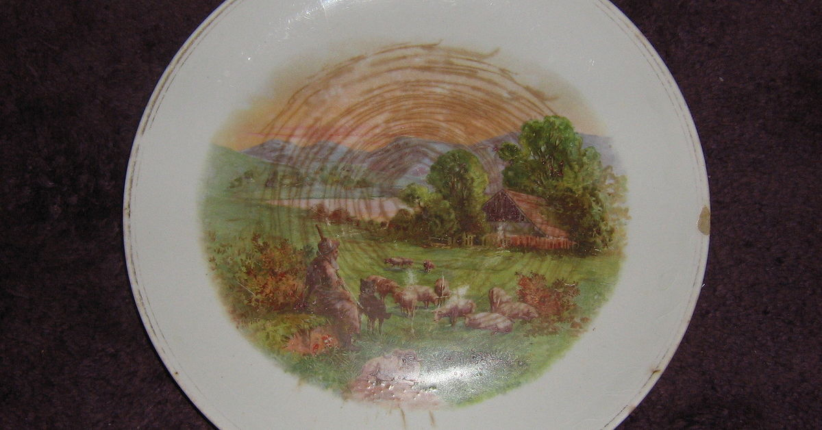 The best way to display an old plate?   Hometalk