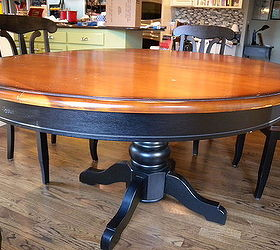Kitchen Table and Chair Makeover With Stain and Paint   Hometalk on kitchen table colors, kitchen makeovers with oak cabinets, kitchen makeovers on a budget, kitchen nooks for small kitchens, luxury kitchen design ideas, pink and brown kitchen ideas, kitchen color ideas, small kitchen remodel ideas, kitchen tables for small spaces, table decorating ideas, dining table makeover ideas, cottage kitchen countertop ideas, kitchen table designs, side table makeover ideas, painted dining table ideas, kitchen makeovers for small kitchens, large country kitchen ideas, kitchen chair makeover, contemporary kitchen design ideas, kitchen table for two,