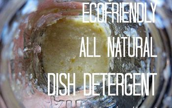 all natural dish detergent, cleaning tips, go green, how to