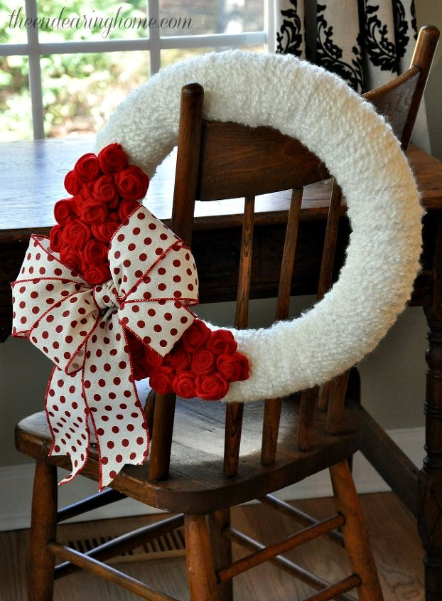 valentine wreath, crafts, how to, seasonal holiday decor, valentines day ideas, wreaths
