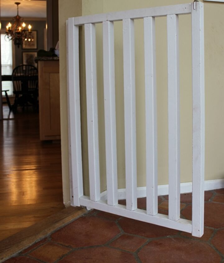 Diy Wooden Dog Or Baby Gate Hometalk