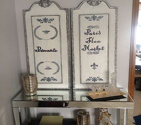 Diy French Shutters From Old Pictures, Home Decor, Painted Furniture,  Repurposing Upcycling,