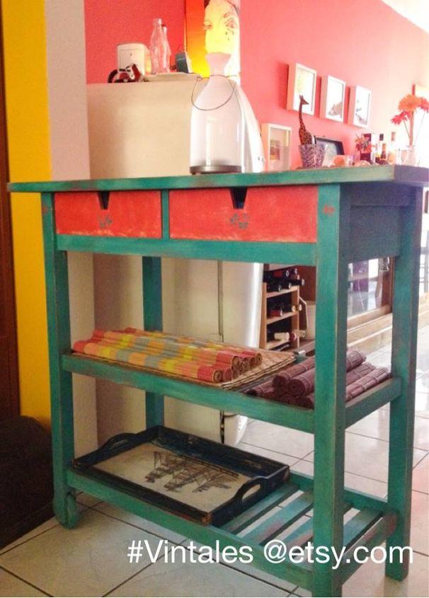 IKEA Kitchen Island Transformed With Chalk Paint | Hometalk