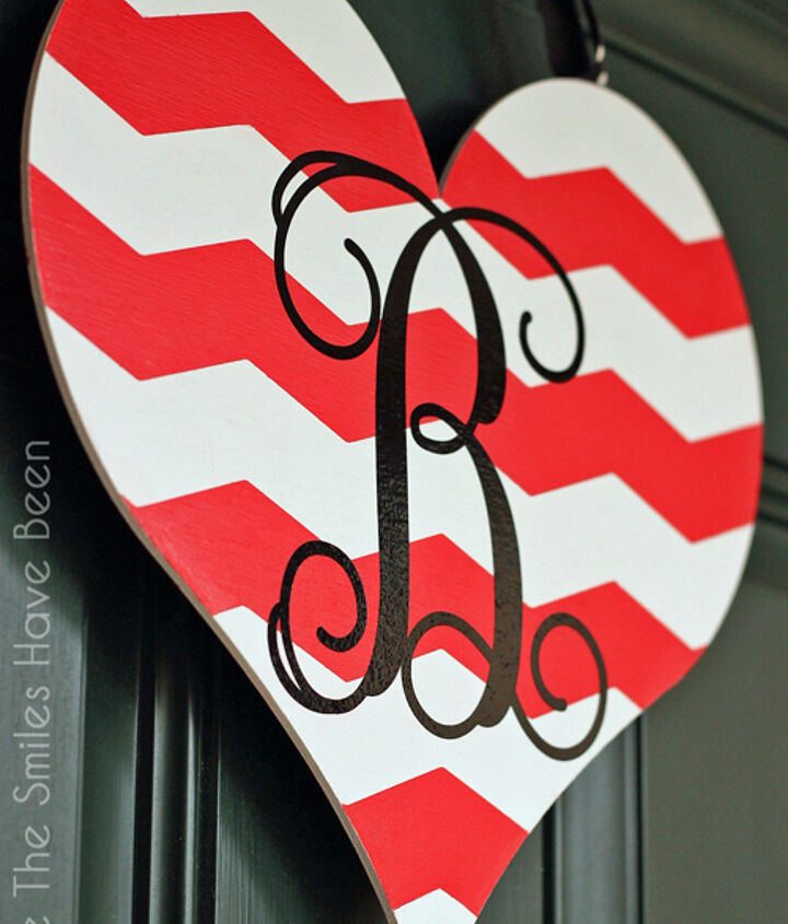 dual sided valentine s day door hanger, crafts, doors, how to, seasonal holiday decor, valentines day ideas