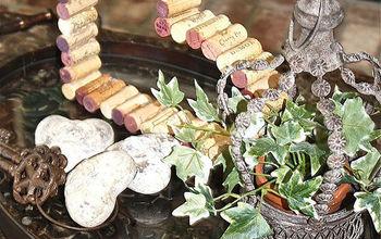 Wine Cork Hearts