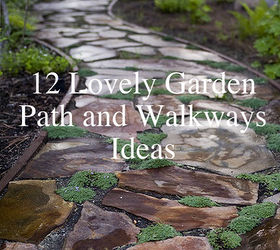 12 Lovely Path And Walkways Ideas For A Beautiful Garden, Concrete Masonry,  Gardening,