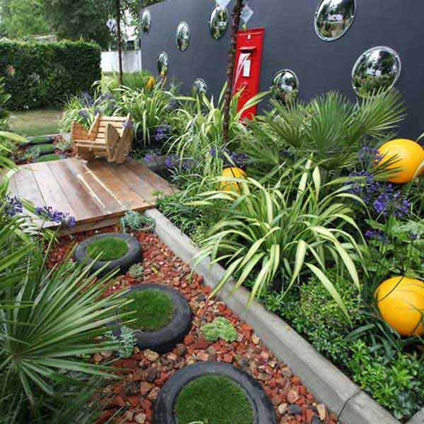 12 lovely path and walkways ideas for a beautiful garden, concrete masonry, gardening, landscape