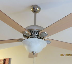 Diy Ceiling Fan Makeover With Modern Masters Paint, Lighting, Painting,  BEFORE