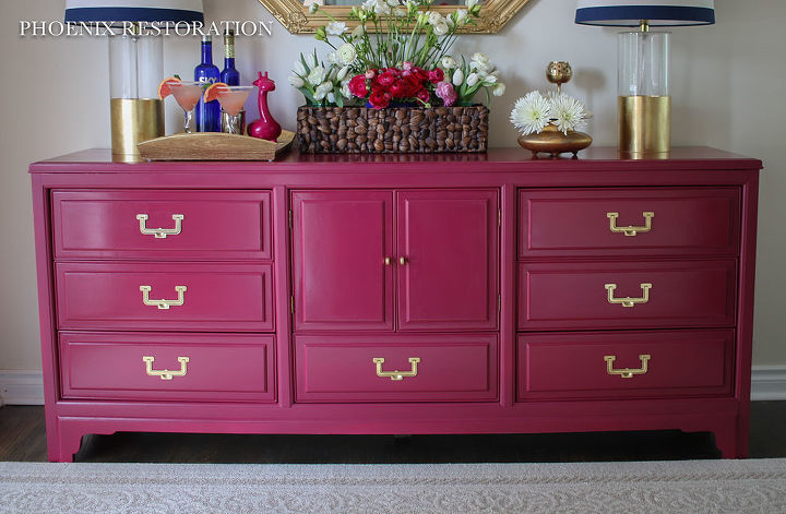 Upcycled Repainted Credenza | Hometalk