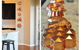easy bundt pan decor, kitchen design, repurposing upcycling, wall decor